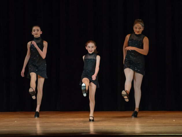 Tap performance on stage.