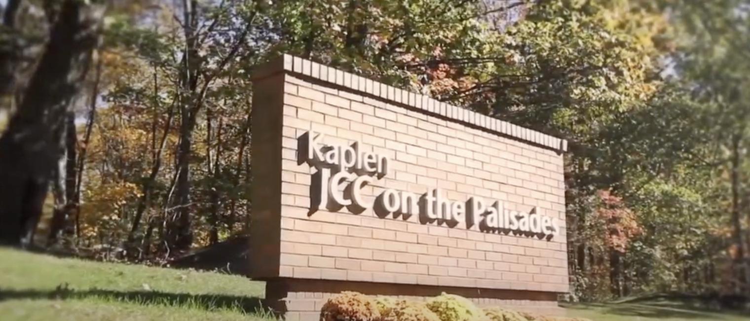"Outdoor sign ""Kaplan JCC""."