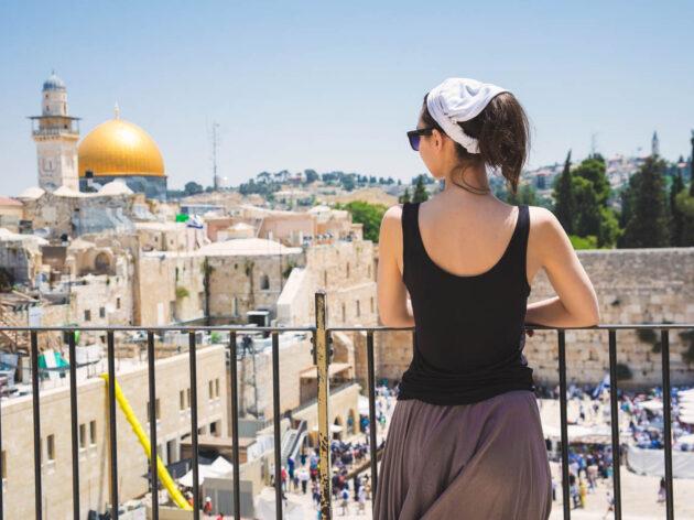 Woman in Jerusalem.