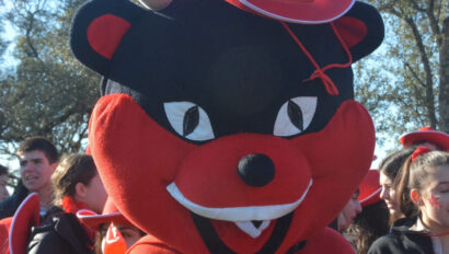 Scout mascot.