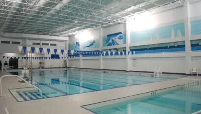 Indoor pool facility.