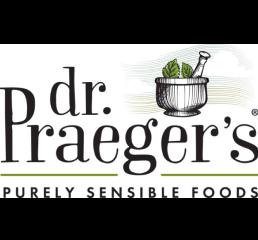 Dr. Praeger's logo.